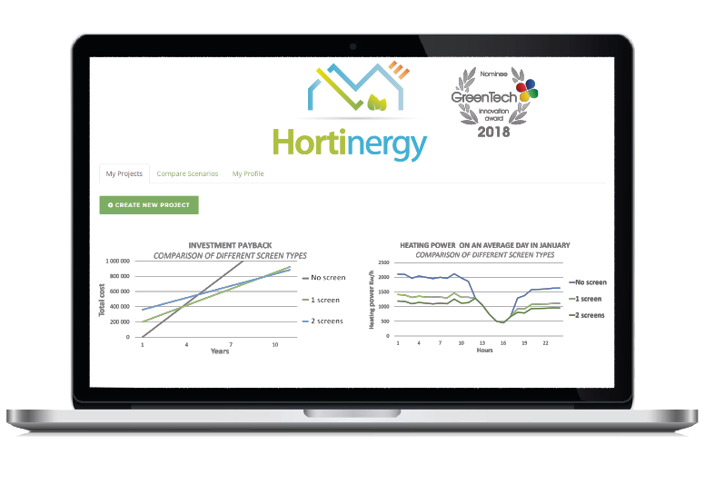 Hortinergy software