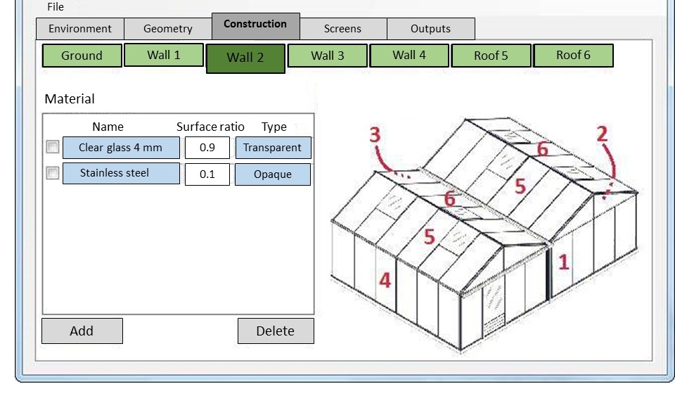 EnerSerre is an energy efficient software for greenhouse projet developped by Agrithermic
