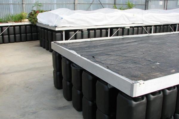 Serre bioclimatique à Fazanis par Agrithermic et RATHO -Agrichauf