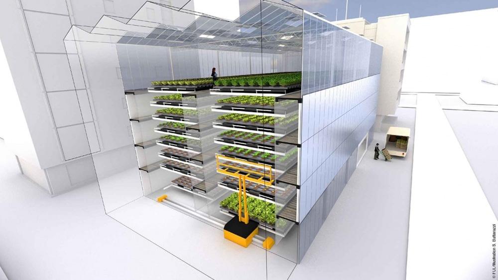 FUL ferme urbaine deshumidification LED