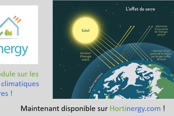 Simulation changement climatique
