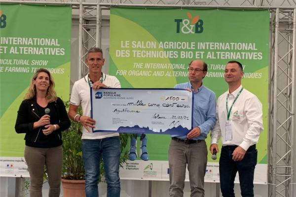 Le TUBUTUBE,  lauréat du concours d'innovation de Tech&Bio!!!