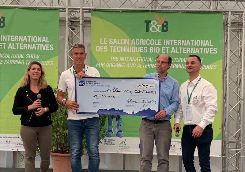 Tubutute serre bioclimatique Laureat Tec&Bio